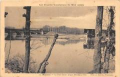Les Grandes  Inondations De Midi Moissac Le Pont Cacor - Moissac