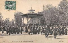 Auxerre Le Kiosque De La Musique - Auxerre