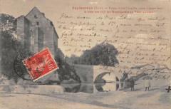 Puylaurens Ruines D'Une Chapelle Vouee A Saint Louis - Puylaurens