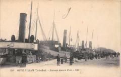 Ouistreham Bateaux Dans Le Port - Ouistreham