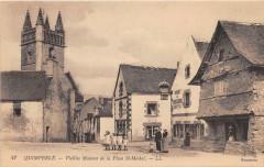 Quimperle Vieilles Maisons De La Place Saint Michel - Quimperlé