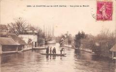 La Chartre Sur Le Loir Vue Prise Du Moulin - La Chartre-sur-le-Loir