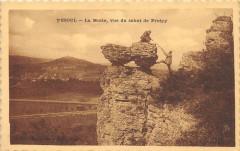 Vesoul La Motte Vue Du Sabot De Frotey - Vesoul