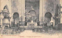 Gaillac Interieur De L'Eglise Saint Pierre - Gaillac