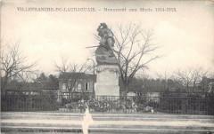 Villefranche De Lauragais Monument Aux Morts - Villefranche-de-Lauragais