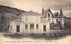 Lamalou Les Bains La Poste Et Villa Jane Mary - Lamalou-les-Bains