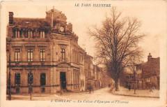 Gaillac La Caisse D'Epargne Et L'Avenue - Gaillac