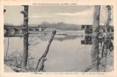 Les Grandes Inondations Du Midi Moissac Le Pont Cacor - Moissac