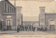 Hesdin Caserne De La Frezeliere Porte D'Entree - Hesdin