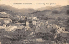 Saint Laurent De Cerdans Le Faubourg Vue Generale 66 Saint-Laurent-de-Cerdans