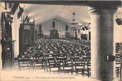 Peronne Vue Interieure De La Chapelle Eglise - Péronne