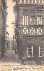 Lisieux La Rue De La Paix (dos non divisé) - Lisieux