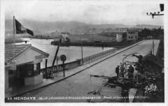 Hendaye Frontiere Franco Espagnole Pont Internacional D'Irun - Hendaye