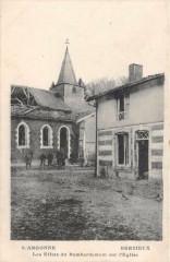 Berzieux Les Effets Du Bombardement Sur Eglise - Berzieux