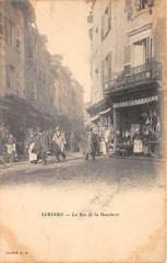 Limoges Rue De La Boucherie (dos non divisé) 87 Limoges