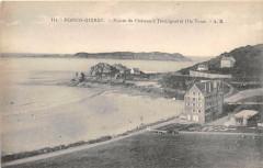Perros Guirec Pointe Du Chateau A Trestrignel Et Ile Tome - Perros-Guirec