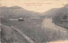 Saint Antonin Noble Val Vue Generale Prise De La Route De Caussade - Caussade