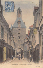 Amboise La Tour De L'Horloge (type sage timbre - Amboise