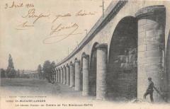 Saint Macaire Langon Le Grand Viaduc Du Chemin De Fer Bordeaux Cette - Langon