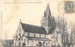 Env.vitry Le Francois Eglise De Maisons En Champagne - Maisons-en-Champagne