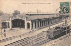 Gare De Vierzon P.o.vue Du Pont De Toulouse - Vierzon