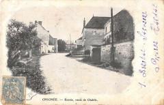 Chichee Entree Route De Chablis (dos non divisé) - Chichée
