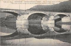 Montherme Chateau Regnault Bogny Pont Chemin De Fer - Monthermé
