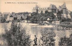 Durtal Vue Generale Sur Le Loir - Durtal