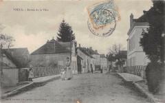 Voulx Entree De La Ville - Voulx