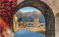Sospel Vue Sur Le Vieux Pont Et La Bevera - Sospel