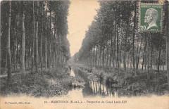 Maintenon Perspective Du Canal Louis Xiv - Maintenon