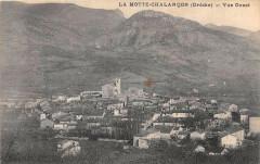 La Motte Chalancon Vue Ouest - Chalancon