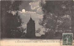 Saint Jean De Monts Le Moulin Rose Au Clair De Lune - Saint-Jean-de-Monts