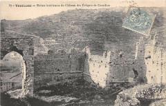 Vaucluse Ruines Interieures Du Chateau Des Eveques De Cavaillon - Cavaillon