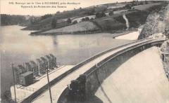 Barrage sur le Cher à Rochebut - Appareils de Manoeuvre des Vannes - Teillet-Argenty