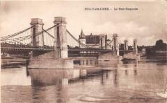 Sully Sur Loire Le Pont Suspendu - Sully-sur-Loire