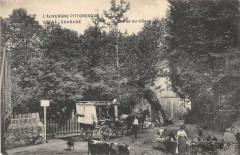 Royat Charade Entree Du Village (cliché pas courant - Royat