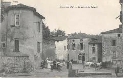 Ris La Place Du Pelerin (cpa rare - Ris