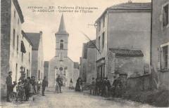 Saint Agoulin Quartier De L'Eglise - Saint-Agoulin