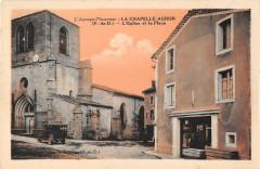 La Chapelle Agnon L'Eglise Et La Place - La Chapelle-Agnon