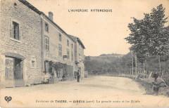 Env.de Thiers Giroux La Grande Route Et Les Hotels - Thiers