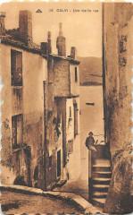 20 Corse Calvi Une Vieille Rue - Calvi
