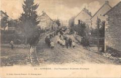 Auvergne Une Procession A Saint Gervais D'Auvergne (dos non divisé) - Saint-Gervais-d'Auvergne