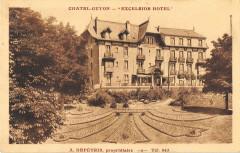 Chatel Guyon Excelsior Hotel A.depetris Proprietaire - Ris
