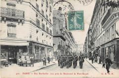 Paris Ve Rue Berthollet Vue Prise Du Boulevard De Port Royal - Paris 5e