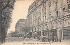 Paris XIIIe Rue De Tolbiac - Paris 13e