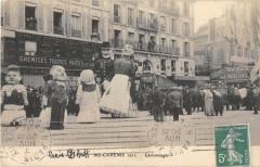 Paris XIIe Mi Careme 1912 Cartonnages - Paris 12e