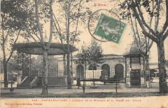 Castelnaudary Kiosque De La Musique Et La Halle Aux Grains (pas courante - Castelnaudary