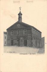 Villefagnan La Halle (cpa pas courante - Villefagnan