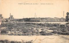 Port De Bouc Usines Kuhlmann (cliché rare - Port-de-Bouc